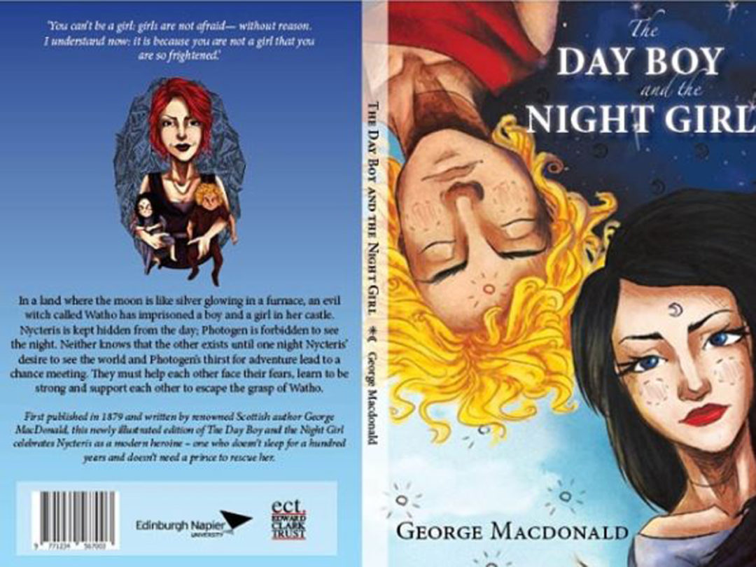 Review Buku Novel The Day Boy and The Night Girl
