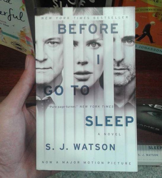 Review Buku Novel Before I Go To Sleep