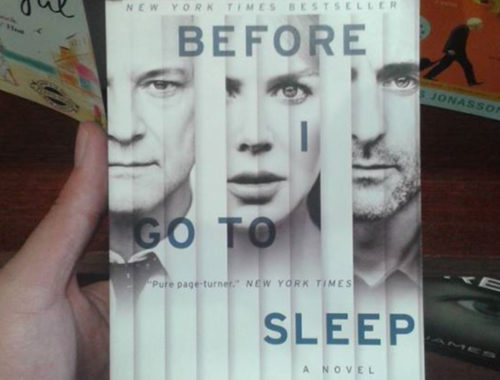 Review Buku Novel Before I Go To Sleep