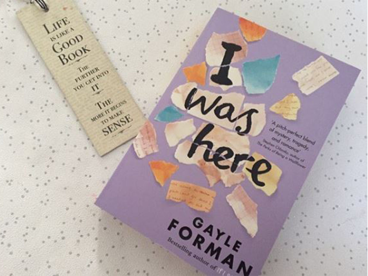 Review Buku Novel I Was Here Karya Gayle Forman
